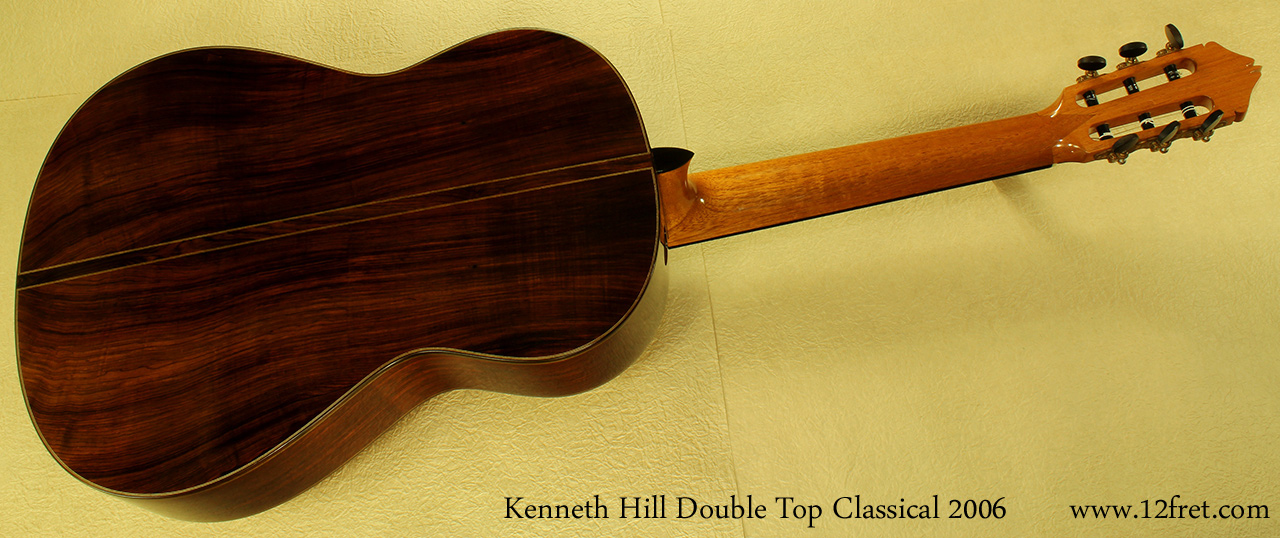 kenneth hill doubletop classical 2006 full rear