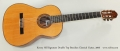 Kenny Hill Signature Double Top Brazilian Classical Guitar, 2006 Full Front View