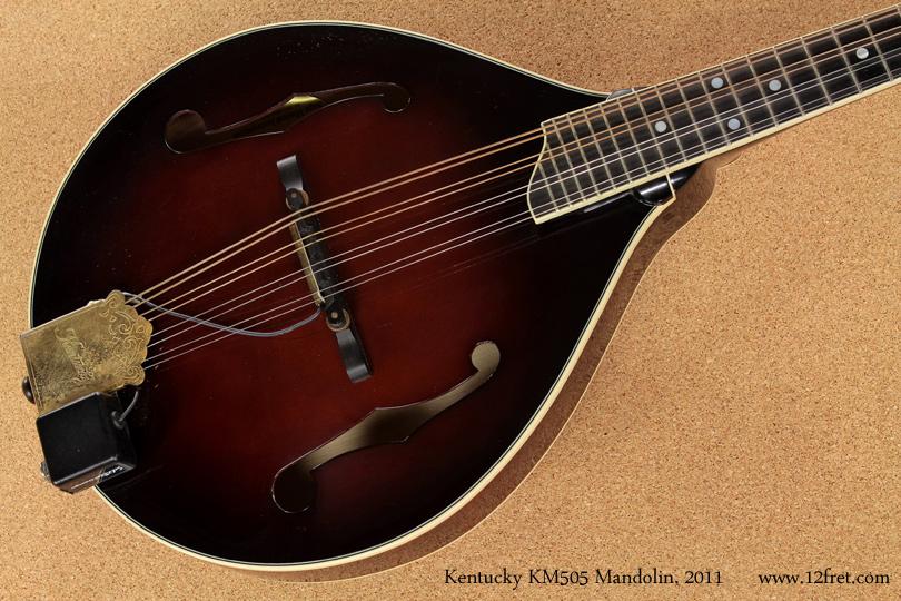 2011 Kentucky KM505 A-Style Mandolin | www 12fret com