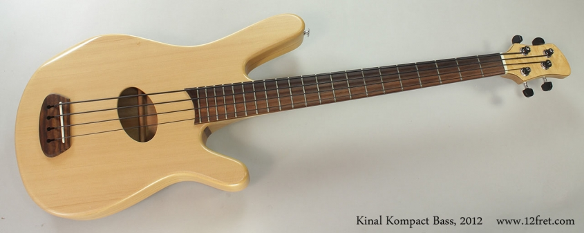 Kinal Kompact Bass, 2012 Full Front VIew