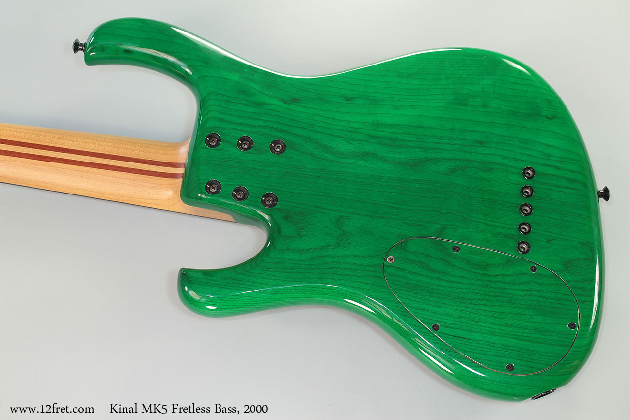 Kinal MK5 Fretless Bass, 2000 Back