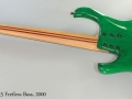 Kinal MK5 Fretless Bass, 2000 Full Rear View