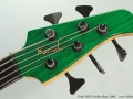 Kinal MK5 Fretless Bass, 2000 Head Front