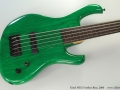 Kinal MK5 Fretless Bass, 2000 Top