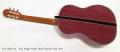 Evan Kingma Purple Heart Classical Guitar, 2017 Full Rear View