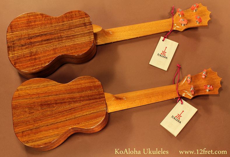 KoAloha Ukuleles pair back