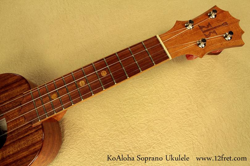 KoAloha Ukuleles soprano neck