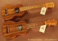 KoAloha Ukuleles pair top