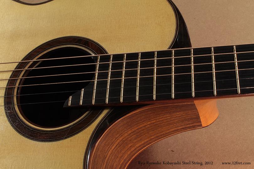 Ryo Ryosuke Kobayashi Steel String, 2012 cutaway