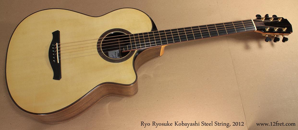 Ryo Ryosuke Kobayashi Steel String, 2012 full front view