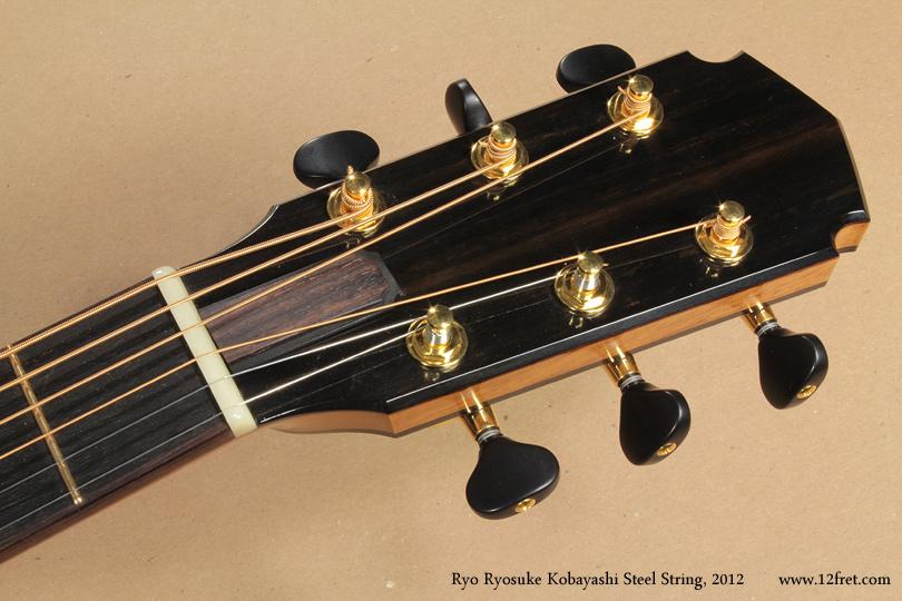 Ryo Ryosuke Kobayashi Steel String, 2012 head front