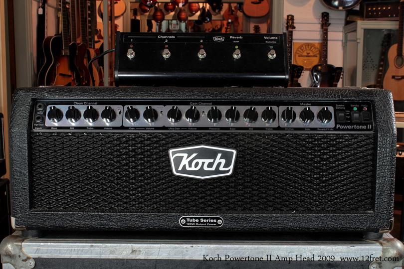 Koch Powertone 2 Amplifier Head front
