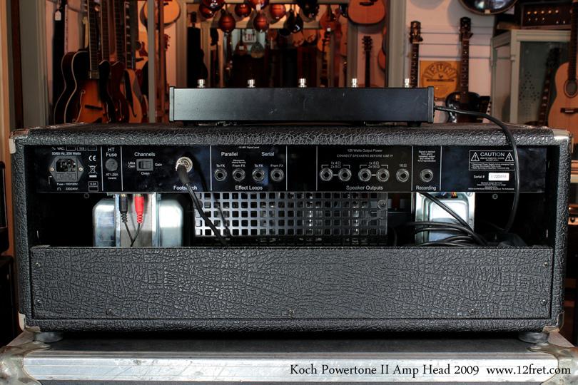 Koch Powertone 2 Amplifier Head rear