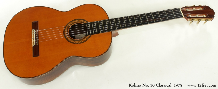 Kohno No 10 Classical 1975 full front view