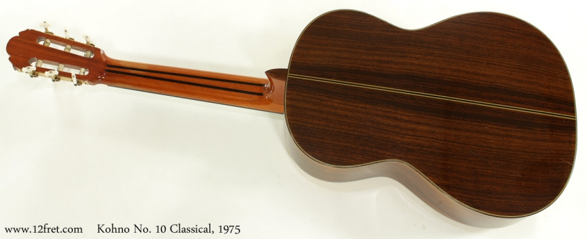 Kohno No 10 Classical 1975 full rear view