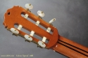Masaru Kohno Special Classical Guitar 1988 head rear view