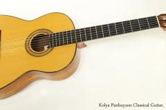 Kolya Panhuyzen Classical Guitar, 1983  Full Front View