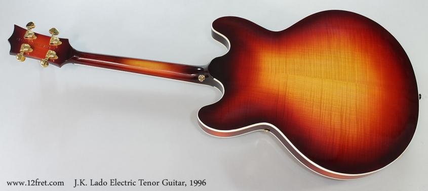 J.K. Lado Electric Tenor Guitar, 1996 Full Rear View