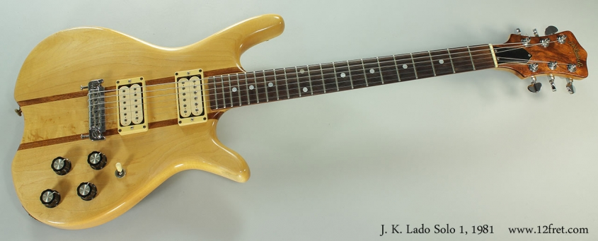 J. K. Lado Solo 1, 1981 Full Front VIew