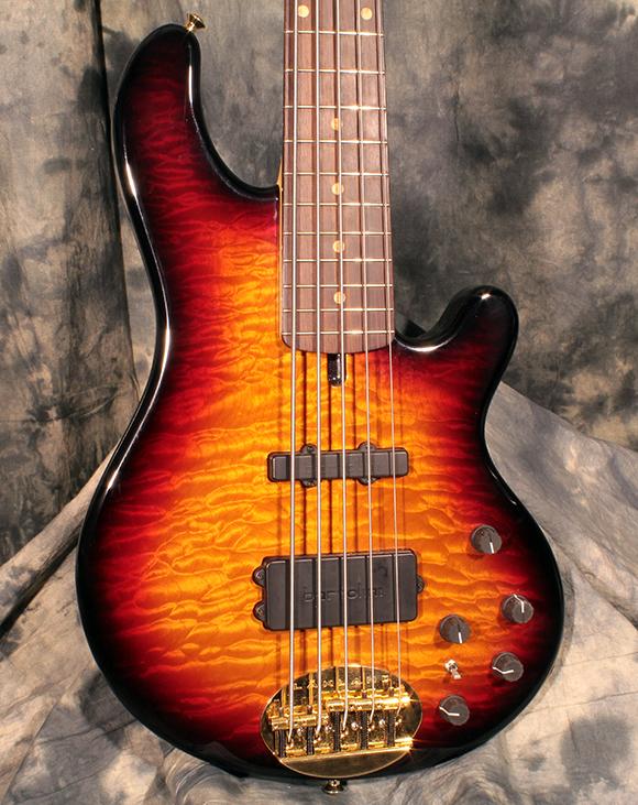 lakland 5594 dlx 5 string bass