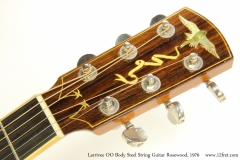 Larrivee OO Body Steel String Guitar Rosewood, 1976 Head Front View