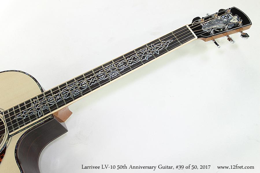 Larrivee LV-10 50th Anniversary Guitar, #39 of 50, 2017  Inlay