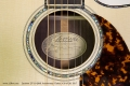 Larrivee LV-10 50th Anniversary Guitar, #39 of 50, 2017  Label View