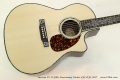Larrivee LV-10 50th Anniversary Guitar, #39 of 50, 2017  Top View