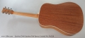 Larrivee D-40 Austrian Red Spruce Limited No. 8 of 30 Full Rear View