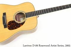Larrivee D-09 Rosewood Artist Series, 2005 Full Front View