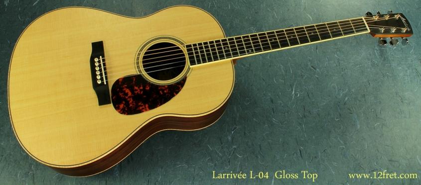 Larrivee L-04 full front