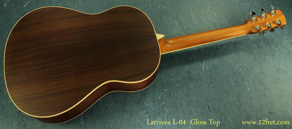 Larrivee L-04 full rear