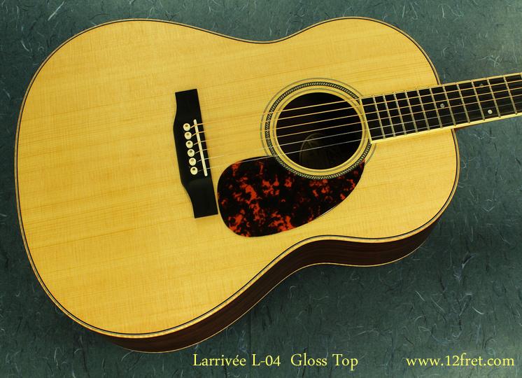 Larrivee L-04 top