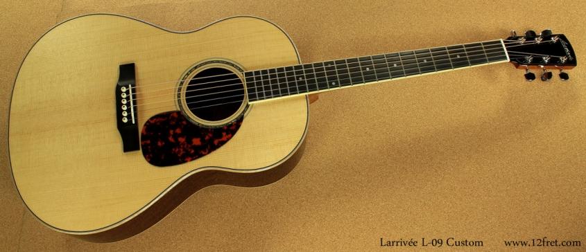 Larrivee L09 Custom full front