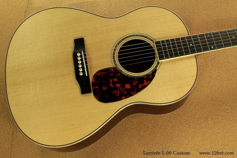 Larrivee L09 Custom top