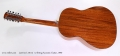 Larrivee L-05-12 12 String Acoustic Guitar, 1990 Full Rear View