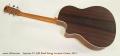 Larrivee LV-03R Steel String Acoustic Guitar, 2012 Full Rear View