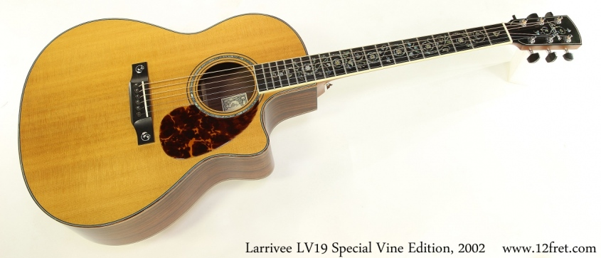 Larrivee LV19 Special Vine Edition, 2002 Full Front View