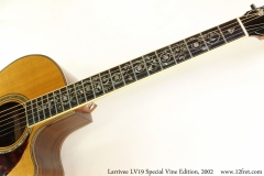 Larrivee LV19 Special Vine Edition, 2002 Vine Inlay View