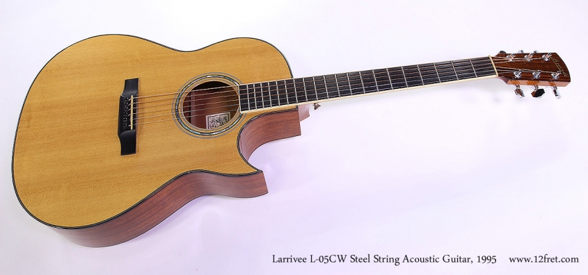 Larrivee L-05CW Steel String Acoustic Guitar, 1995 Full Front View