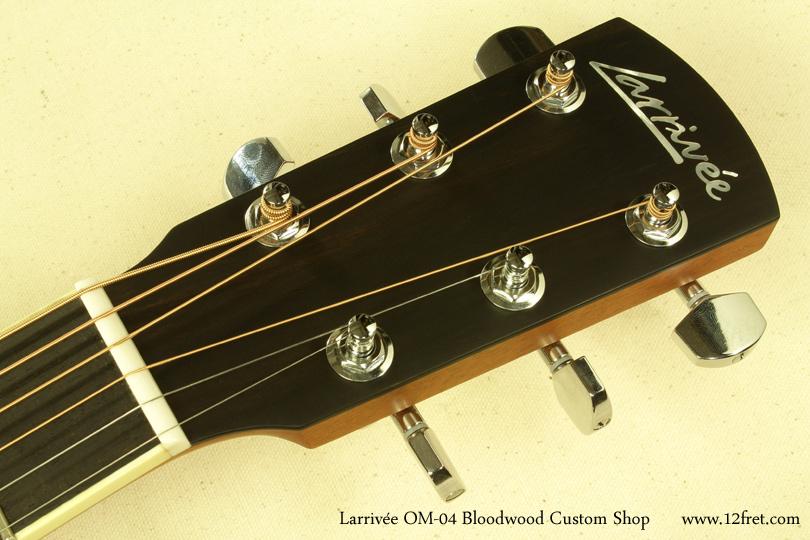 Larrivee OM-04 Bloodwood head front
