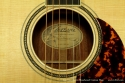 Larrivee OM-04 Bloodwood label