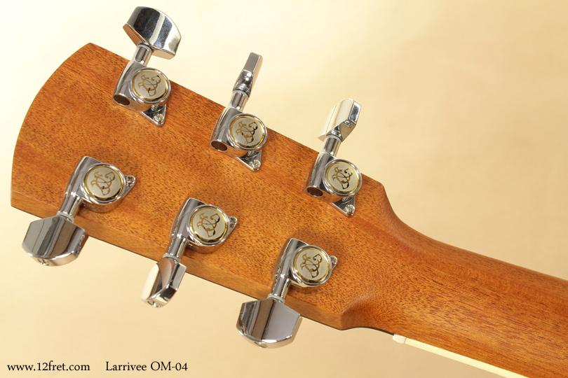 Larrivee OM-04 head rear