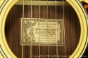 Larrivee OM-3 R SH Twelfth Fret Custom 2007 label