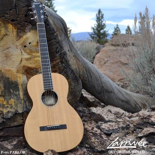 Larrivee P-01 ISS Parlor Guitar