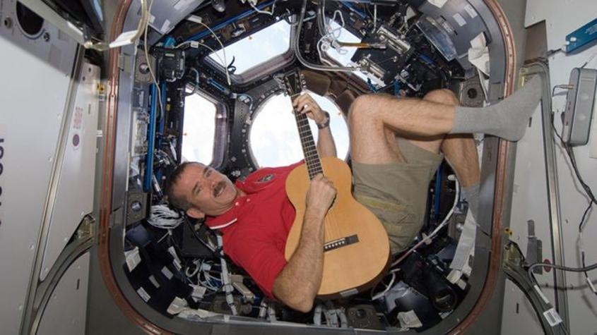 Larrivee P-01 ISS Commemorative Model Chris Hadfield In Space