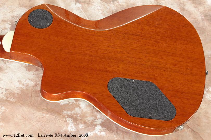 Larrivee RS-4 Amber 2008 back