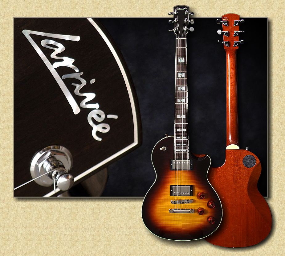 larrivee rs 4 solidbody electric guitar. Black Bedroom Furniture Sets. Home Design Ideas