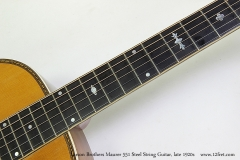 Larson Brothers Maurer 551 Steel String Guitar, late 1920s  Inlay Set