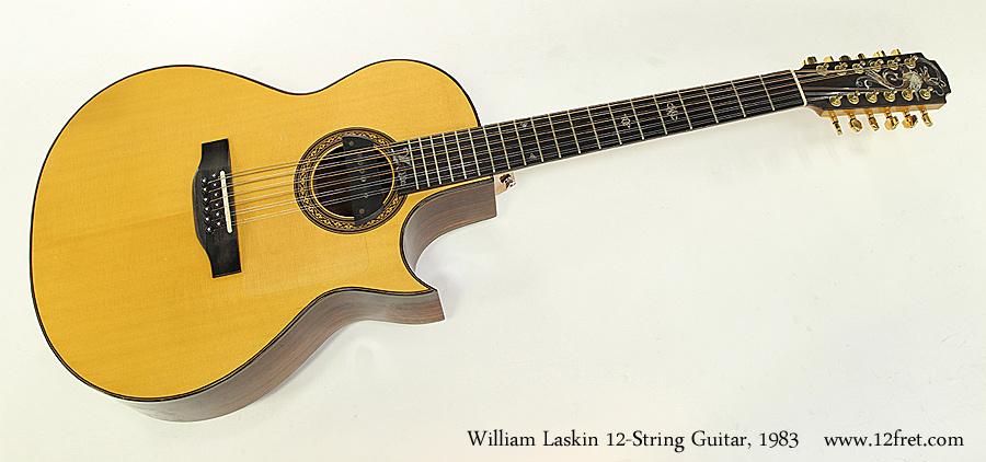 William Laskin 12-String Guitar, 1983 Full Front View